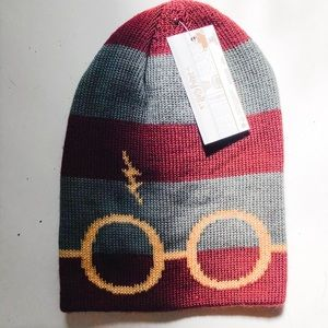 Accessories - Harry Potter NWT Striped Beanie
